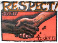Art - Street art - Respect